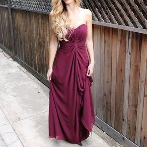 Dresses & Skirts - burgundy gown
